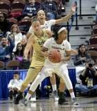 Gallery NCAA Women's Basketball; AAC Tournament SF's - #2 Temple 58 vs. #3 USF 63 (90)