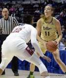 Gallery NCAA Women's Basketball; AAC Tournament SF's - #2 Temple 58 vs. #3 USF 63 (96)