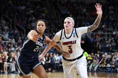 NCAA Women's Basketball Albany Regional Finals - #1 Louisville 73 vs. #2 UConn 80 (100)