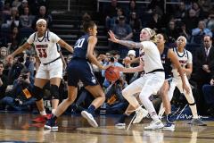 NCAA Women's Basketball Albany Regional Finals - #1 Louisville 73 vs. #2 UConn 80 (101)