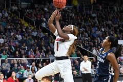 NCAA Women's Basketball Albany Regional Finals - #1 Louisville 73 vs. #2 UConn 80 (104)
