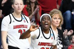 NCAA Women's Basketball Albany Regional Finals - #1 Louisville 73 vs. #2 UConn 80 (105)