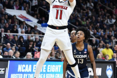 NCAA Women's Basketball Albany Regional Finals - #1 Louisville 73 vs. #2 UConn 80 (109)