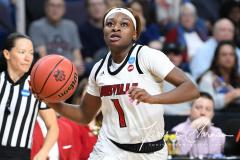NCAA Women's Basketball Albany Regional Finals - #1 Louisville 73 vs. #2 UConn 80 (111)