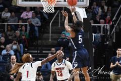 NCAA Women's Basketball Albany Regional Finals - #1 Louisville 73 vs. #2 UConn 80 (114)