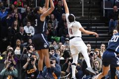NCAA Women's Basketball Albany Regional Finals - #1 Louisville 73 vs. #2 UConn 80 (116)