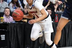 NCAA Women's Basketball Albany Regional Finals - #1 Louisville 73 vs. #2 UConn 80 (117)