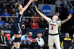 NCAA Women's Basketball Albany Regional Finals - #1 Louisville 73 vs. #2 UConn 80 (128)