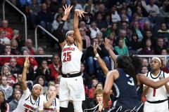 NCAA Women's Basketball Albany Regional Finals - #1 Louisville 73 vs. #2 UConn 80 (136)