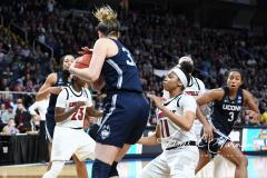 NCAA Women's Basketball Albany Regional Finals - #1 Louisville 73 vs. #2 UConn 80 (137)