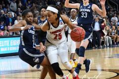 NCAA Women's Basketball Albany Regional Finals - #1 Louisville 73 vs. #2 UConn 80 (140)