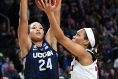 NCAA Women's Basketball Albany Regional Finals - #1 Louisville 73 vs. #2 UConn 80 (141)