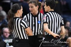 NCAA Women's Basketball Albany Regional Finals - #1 Louisville 73 vs. #2 UConn 80 (143)