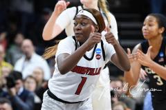 NCAA Women's Basketball Albany Regional Finals - #1 Louisville 73 vs. #2 UConn 80 (146)