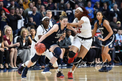 NCAA Women's Basketball Albany Regional Finals - #1 Louisville 73 vs. #2 UConn 80 (149)