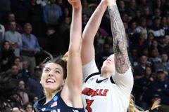 NCAA Women's Basketball Albany Regional Finals - #1 Louisville 73 vs. #2 UConn 80 (154)