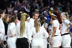NCAA Women's Basketball Albany Regional Finals - #1 Louisville 73 vs. #2 UConn 80 (157)