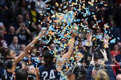 NCAA Women's Basketball Albany Regional Finals - #1 Louisville 73 vs. #2 UConn 80 (163)