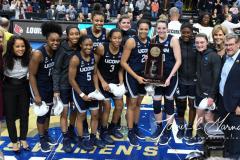 NCAA Women's Basketball Albany Regional Finals - #1 Louisville 73 vs. #2 UConn 80 (166)