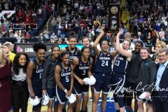 NCAA Women's Basketball Albany Regional Finals - #1 Louisville 73 vs. #2 UConn 80 (167)