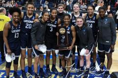 NCAA Women's Basketball Albany Regional Finals - #1 Louisville 73 vs. #2 UConn 80 (168)