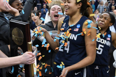 NCAA Women's Basketball Albany Regional Finals - #1 Louisville 73 vs. #2 UConn 80 (172)
