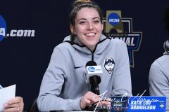 NCAA Women's Basketball Albany Regional Finals - #1 Louisville 73 vs. #2 UConn 80 (187)
