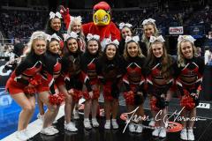 NCAA Women's Basketball Albany Regional Finals - #1 Louisville 73 vs. #2 UConn 80 (2)