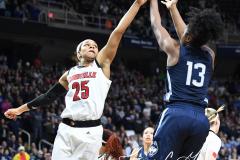 NCAA Women's Basketball Albany Regional Finals - #1 Louisville 73 vs. #2 UConn 80 (25)