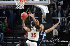 NCAA Women's Basketball Albany Regional Finals - #1 Louisville 73 vs. #2 UConn 80 (27)