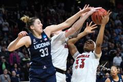 NCAA Women's Basketball Albany Regional Finals - #1 Louisville 73 vs. #2 UConn 80 (29)