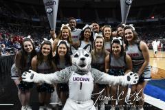NCAA Women's Basketball Albany Regional Finals - #1 Louisville 73 vs. #2 UConn 80 (3)