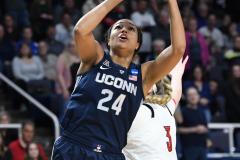 NCAA Women's Basketball Albany Regional Finals - #1 Louisville 73 vs. #2 UConn 80 (30)
