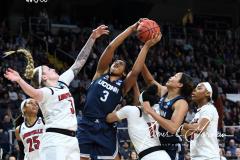 NCAA Women's Basketball Albany Regional Finals - #1 Louisville 73 vs. #2 UConn 80 (34)