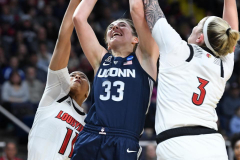 NCAA Women's Basketball Albany Regional Finals - #1 Louisville 73 vs. #2 UConn 80 (38)
