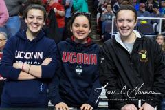 NCAA Women's Basketball Albany Regional Finals - #1 Louisville 73 vs. #2 UConn 80 (4)