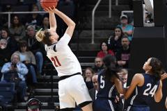 NCAA Women's Basketball Albany Regional Finals - #1 Louisville 73 vs. #2 UConn 80 (42)