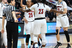 NCAA Women's Basketball Albany Regional Finals - #1 Louisville 73 vs. #2 UConn 80 (45)