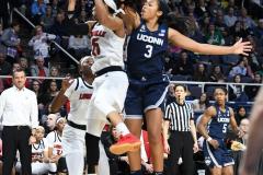 NCAA Women's Basketball Albany Regional Finals - #1 Louisville 73 vs. #2 UConn 80 (47)