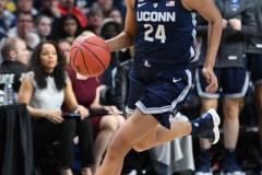 NCAA Women's Basketball Albany Regional Finals - #1 Louisville 73 vs. #2 UConn 80 (49)