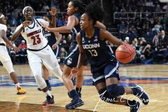 NCAA Women's Basketball Albany Regional Finals - #1 Louisville 73 vs. #2 UConn 80 (51)
