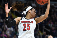 NCAA Women's Basketball Albany Regional Finals - #1 Louisville 73 vs. #2 UConn 80 (53)