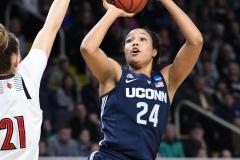 NCAA Women's Basketball Albany Regional Finals - #1 Louisville 73 vs. #2 UConn 80 (59)