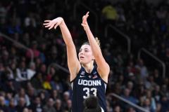 NCAA Women's Basketball Albany Regional Finals - #1 Louisville 73 vs. #2 UConn 80 (63)