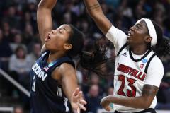 NCAA Women's Basketball Albany Regional Finals - #1 Louisville 73 vs. #2 UConn 80 (64)