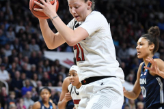 NCAA Women's Basketball Albany Regional Finals - #1 Louisville 73 vs. #2 UConn 80 (69)