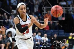 NCAA Women's Basketball Albany Regional Finals - #1 Louisville 73 vs. #2 UConn 80 (79)