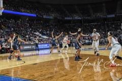 NCAA Women's Basketball Albany Regional Finals - #1 Louisville 73 vs. #2 UConn 80 (80)