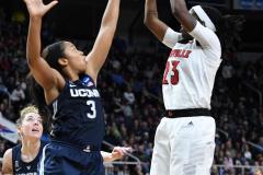 NCAA Women's Basketball Albany Regional Finals - #1 Louisville 73 vs. #2 UConn 80 (82)