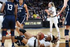 NCAA Women's Basketball Albany Regional Finals - #1 Louisville 73 vs. #2 UConn 80 (85)